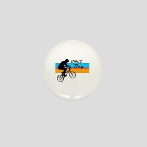 BMX Boy Mini Button