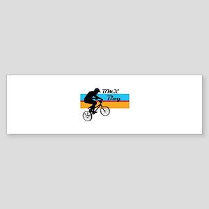 BMX Boy Sticker (Bumper)