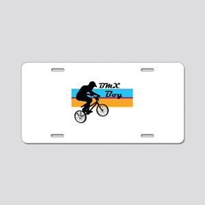 BMX Boy Aluminum License Plate