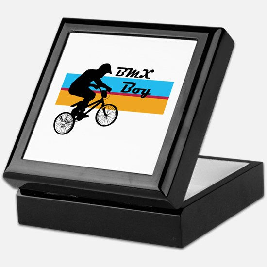 BMX Boy Keepsake Box