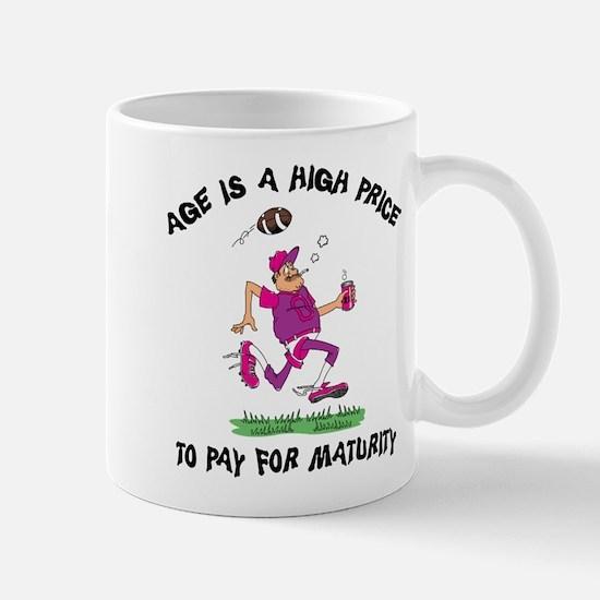 Funny Football Grandpa Mug