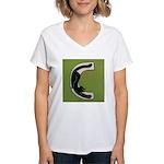 C is for Cat Women's V-Neck T-Shirt