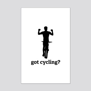 Got cycling? Mini Poster Print
