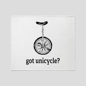 Got unicycle? Throw Blanket