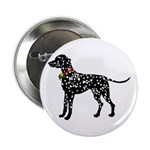 Christmas or Holiday Dalmatian Silhouette 2.25