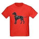 Christmas or Holiday Dalmatian Silhouette Kids Dar