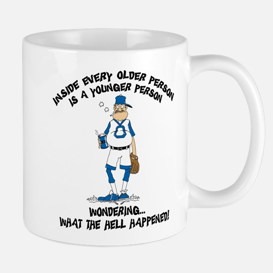 Funny Baseball Grandpa Mug