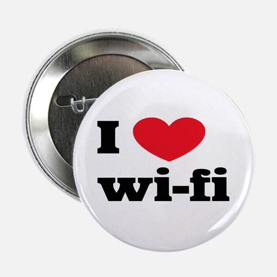 "i love wi-fi 2.25"" Button"