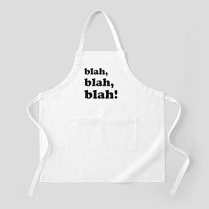 Blah, blah, blah Apron