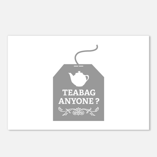 Teabag Anyone ? Postcards (Package of 8)