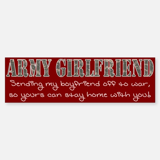 Army GF Sticker (Bumper)