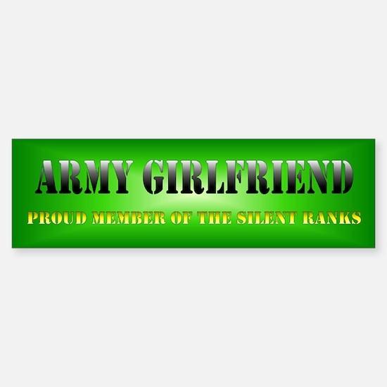 Silent Army G Sticker (Bumper)