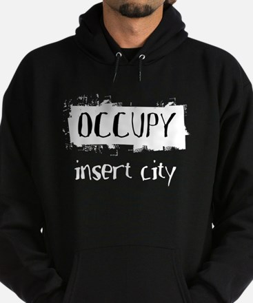 Occupy Your City Hoodie (dark)