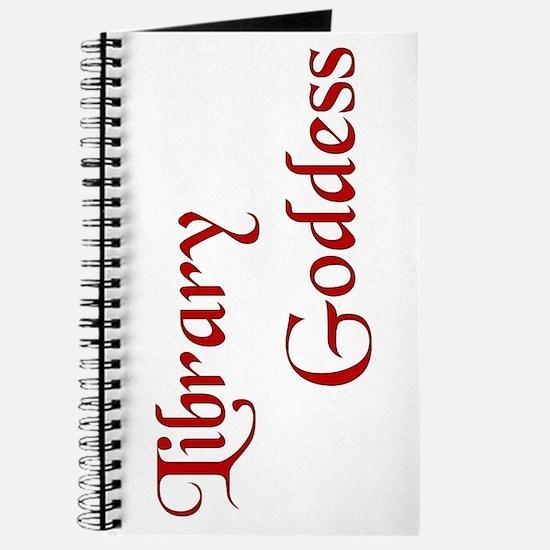 Red Library Goddess Journal
