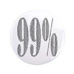 """I am the 99% 3.5"""" Button"""