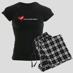 Red Heart Organic Women's Dark Pajamas