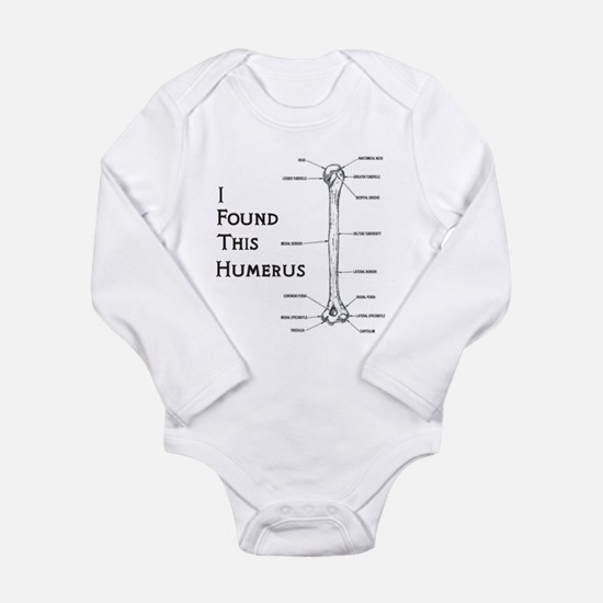 I Find This Humerus Long Sleeve Infant Bodysuit