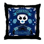 Revenge Revolution Midnight Throw Pillow