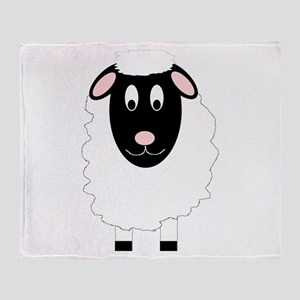 Sheep Design Throw Blanket