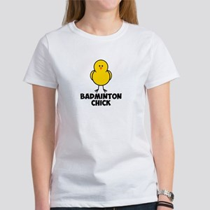 Badminton Chick Women's T-Shirt