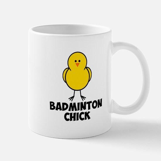 Badminton Chick Mug
