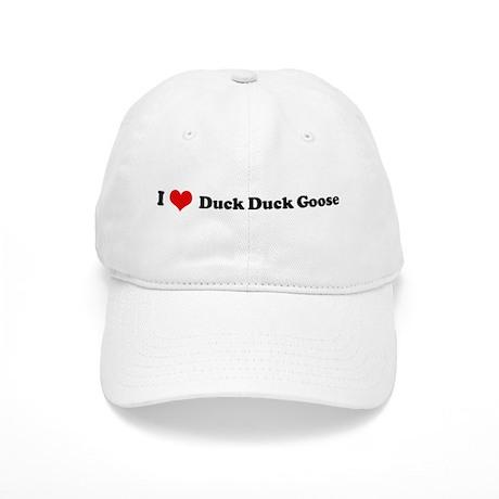 I Love Duck Duck Goose Cap