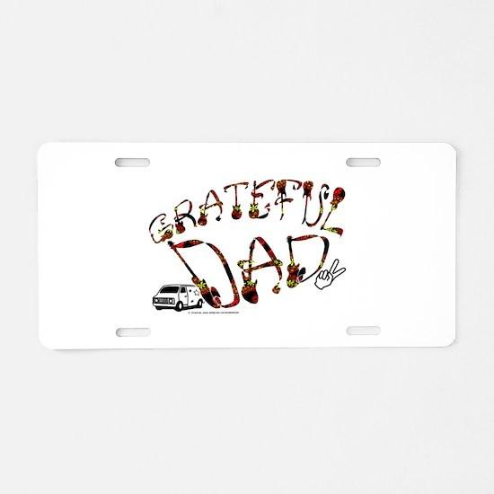 Grateful Dad - Aluminum License Plate