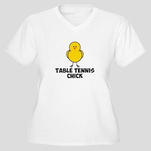 temp Women's Plus Size V-Neck T-Shirt