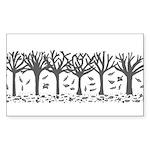 Autumn Sticker (Rectangle 50 pk)