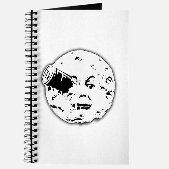 Le Voyage dans la Lune Hugo Moon Man Rocket Journa