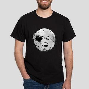 Le Voyage dans la Lune Hugo Moon Man Rocket Dark T