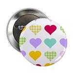 Rainbow Hearts Pattern 2.25