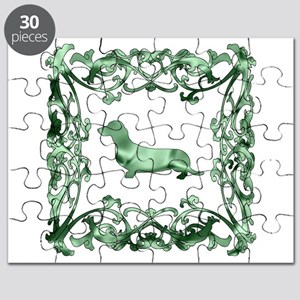 Dachshund Lattice Puzzle