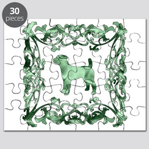 Jack Russell Terrier Lattice Puzzle