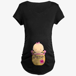 June Baby Maternity Dark T-Shirt