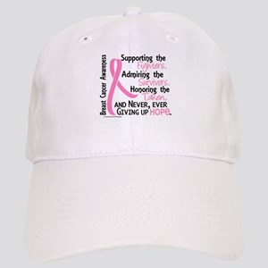 SupportAdmireHonor10 Breast Cancer Cap