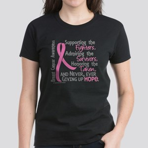 46e1019d884 SupportAdmireHonor10 Breast Cancer Women s Dark T-