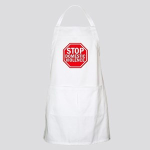 STOP Domestic Violence BBQ Apron