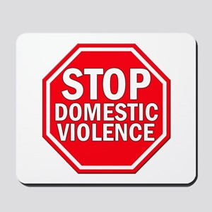 STOP Domestic Violence Mousepad