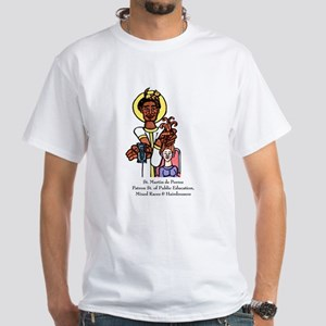 Social Justice & Hairdressers White T-Shirt