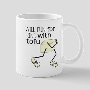 tofu running Mug