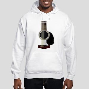 acoustic guitar Hooded Sweatshirt