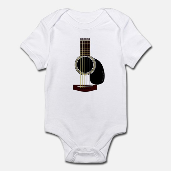 acoustic guitar Infant Bodysuit