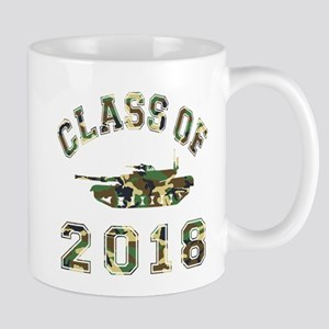 Class Of 2018 Military School Mug
