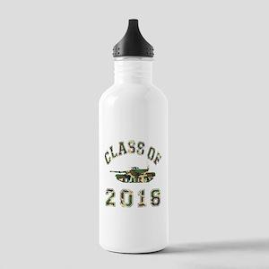 Class Of 2018 Military School Stainless Water Bott