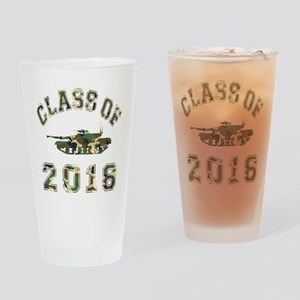 Class Of 2018 Military School Drinking Glass