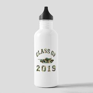 Class Of 2019 Military School Stainless Water Bott