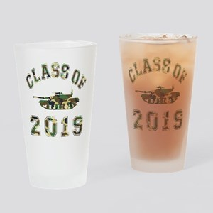 Class Of 2019 Military School Drinking Glass