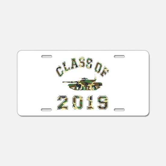 Class Of 2019 Military School Aluminum License Pla
