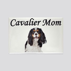 Cavalier Mom-Light Colors Rectangle Magnet